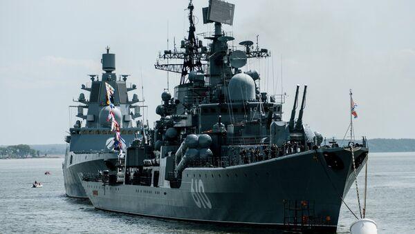 Marine russe: le palmarès des dix meilleurs navires de combat - Sputnik France