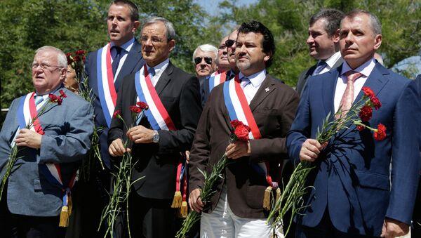 Visite de la délégation française à Sébastopol - Sputnik France