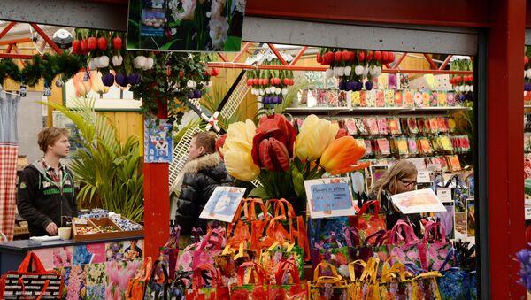 Le marché des fleurs à Amsterdam - Sputnik France