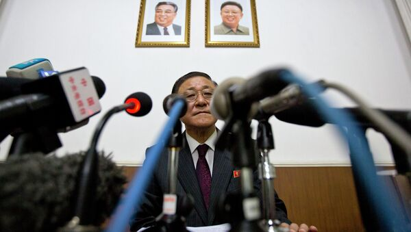 l'ambassadeur nord-coréen, Ji Jae Ryong - Sputnik France