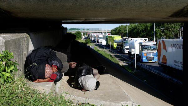 Migrants en France - Sputnik France