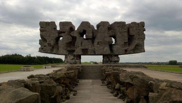 Majdanek, un ancien camp de concentration nazi situé près de la ville de Lublin (sud-est) - Sputnik France