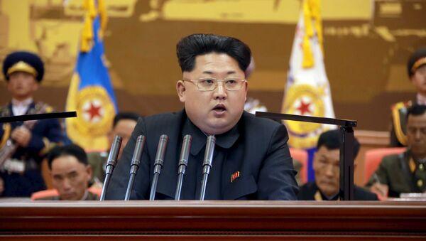Le leader nord-coréen Kim Jong Un - Sputnik France