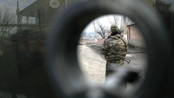 Opération antiterroriste dans le Caucase russe. Image d'illustration - Sputnik France