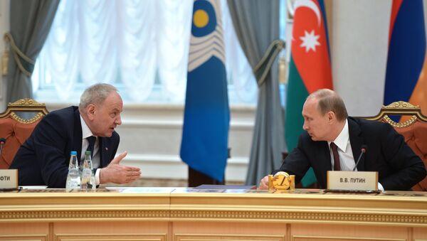 Рабочий визит В.Путина в Белоруссию - Sputnik France
