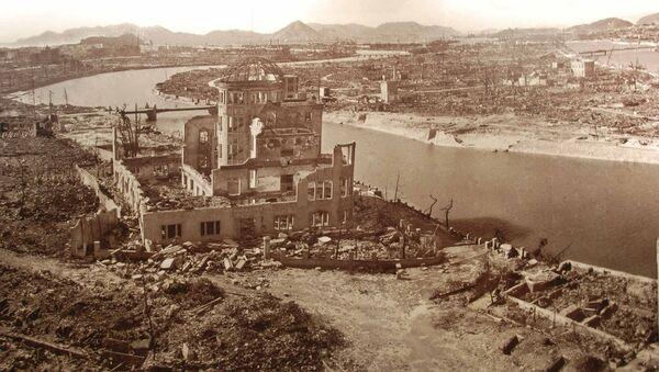 La ville de Hiroshima après les bombardements atomiques - Sputnik France