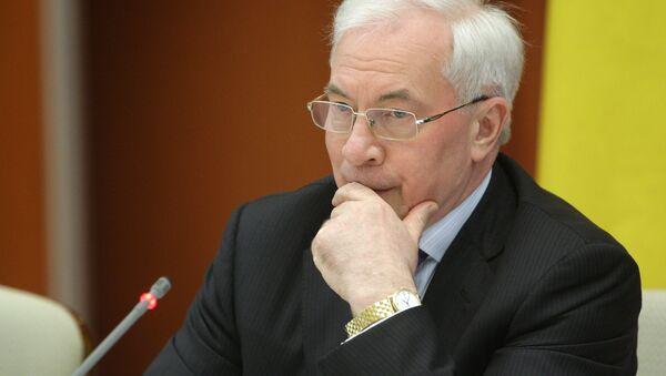 L'ex-premier ministre ukrainien Nikolaï Azarov - Sputnik France