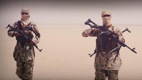 Militantes del Estado Islámico - Sputnik France