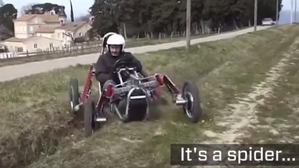 Swincar, la voiture-araignée qui passe partout - Sputnik France