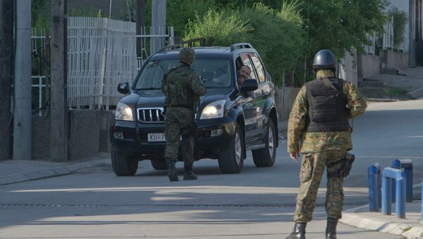 La police macédonienne - Sputnik France
