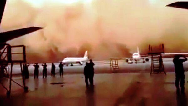 Jordanie: une violente tempête de sable paralyse l'aéroport de la capitale - Sputnik France