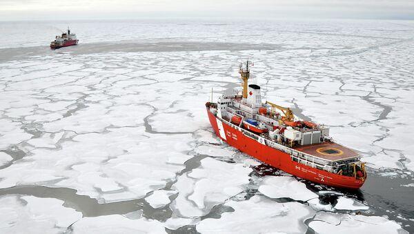 Arctic continental shelf - Sputnik France