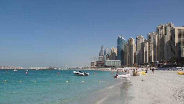 Une plage à Dubaï - Sputnik France