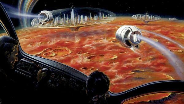 La Lune. L'image d'illustration - Sputnik France