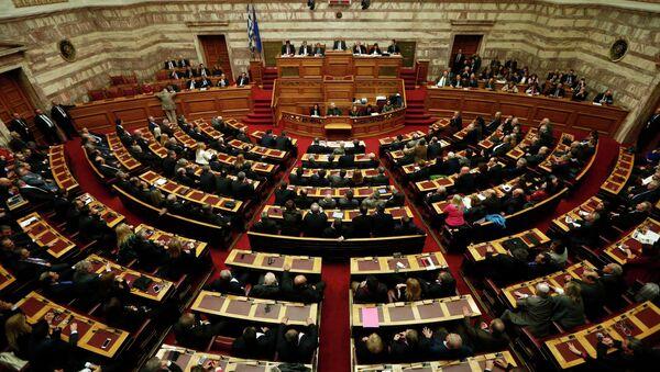 le Parlement grec - Sputnik France
