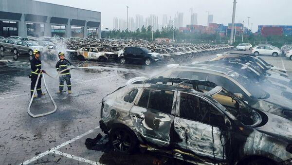 Chine: Tianjin plongée dans le chaos après les explosions - Sputnik France