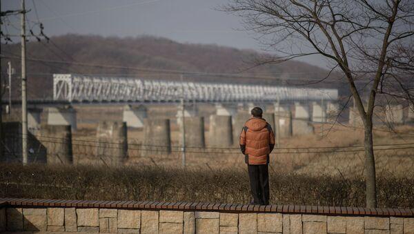 Zone démilitarisée (DMZ) entre la Corée du Nord et la Corée du Sud - Sputnik France