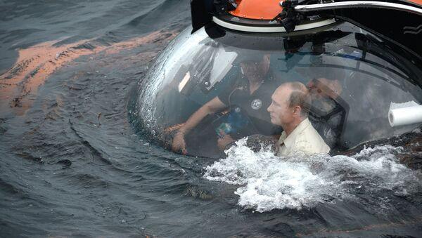 Poutine prend part à une expédition sous-marine - Sputnik France