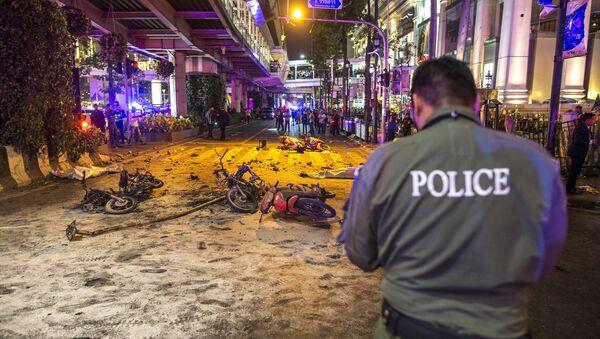 Victimes de l'explosion terroriste à Bangkok le 17 août 2015 - Sputnik France