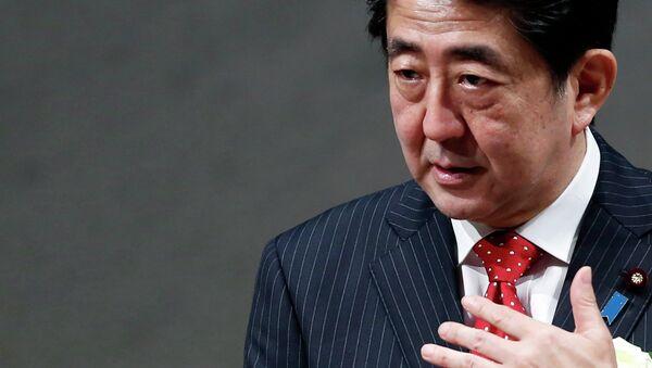 Premier ministre japonais  Shinzo Abe - Sputnik France