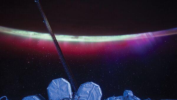 Северное сияние с борта МКС - Sputnik France