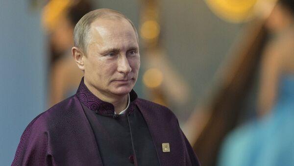 Le président russe Vladimir Poutine en Chine, 2014 - Sputnik France