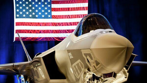 Le chasseur-bombardier furtif américain F-35 - Sputnik France