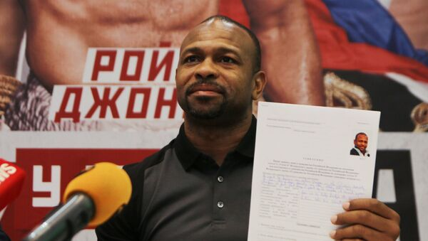 Le boxeur américain Roy Jones Jr. a demandé la citoyenneté russe. - Sputnik France