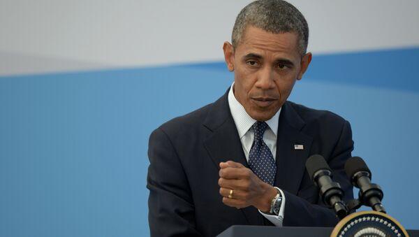 Le président des Etats-Unis Barack Obama - Sputnik France