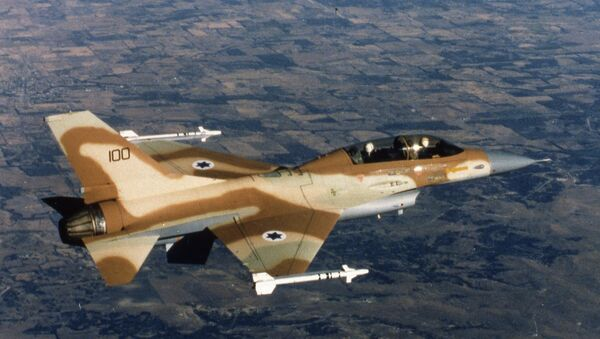 Un chasseur F-16 israélien - Sputnik France