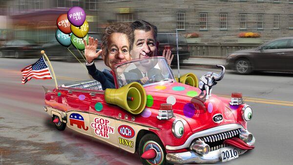 Rand Paul joins Ted Cruz in the Republican Clown Car - Sputnik France