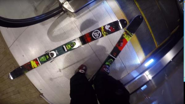 Slalom géant sur escalators - Sputnik France