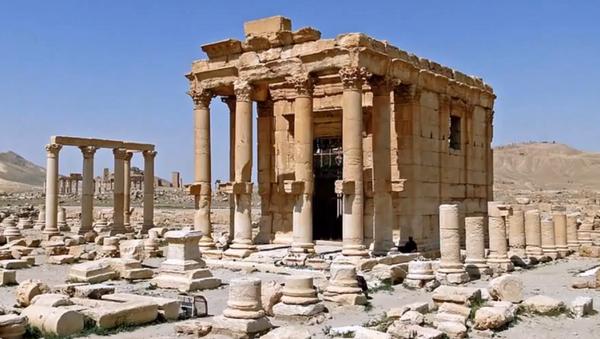 Temple de Baalshamin dans la cité antique de Palmyre - Sputnik France
