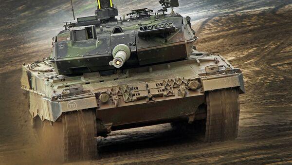 Le char allemand Leopard-2 - Sputnik France