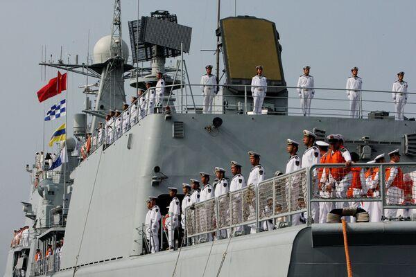 Les exercices militaires russo-chinois Coopération maritime – 2015 - Sputnik France