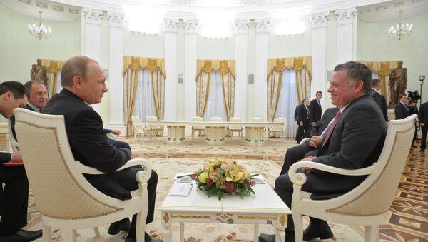 Vladimir Poutine et Abdallah II. Archive photo - Sputnik France