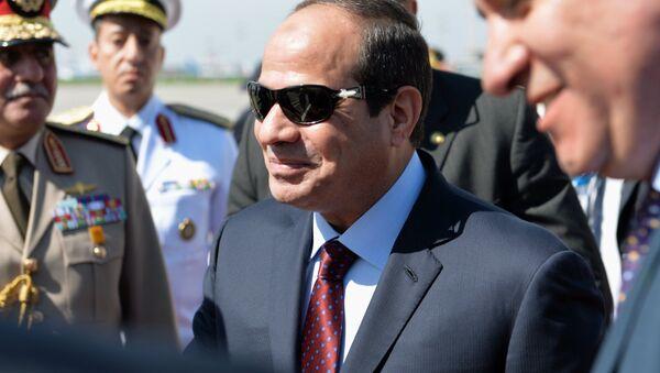 Abdel Fattah al-Sissi à Moscou. Archive photo - Sputnik France