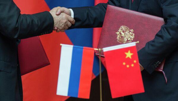 Les accords sino-russes - Sputnik France
