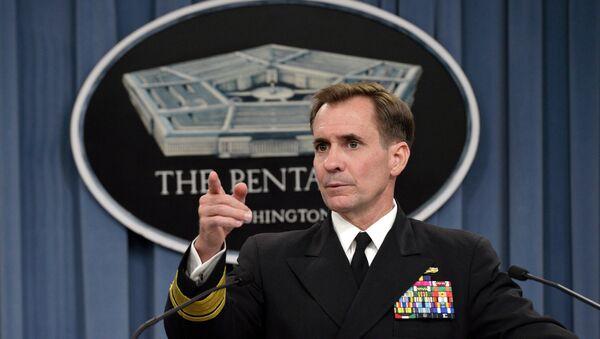 Porte-parole du Département d'Etat US John Kirby - Sputnik France