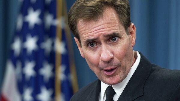 Le porte-parole du Département d'Etat américain John Kirby - Sputnik France