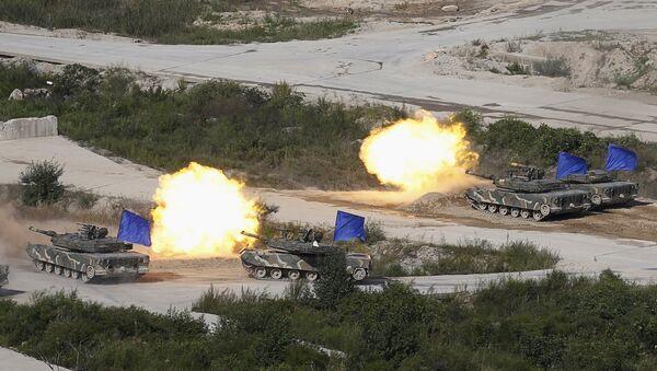 Ulchi-Freedom Guardian: exercices militaires conjoints américano-sud-coréens - Sputnik France