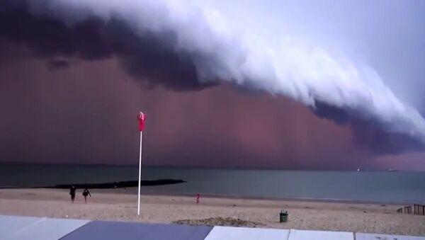 Belgique: l'approche d'un orage - Sputnik France