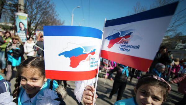 Fête de la réunification de la Crimée avec la Russie - Sputnik France