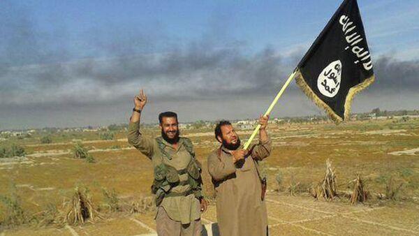 Militantes de EI en Irak - Sputnik France
