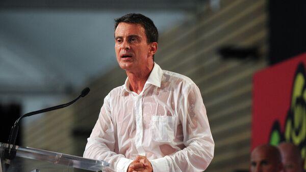Manuel Valls à l'université d'été du PS à La Rochelle, 30 août - Sputnik France