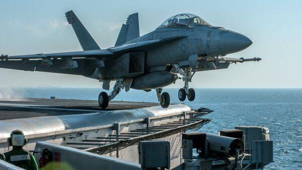 Un avion de la coalition menée par les Etats-Unis décolle pour une mission contre Daech - Sputnik France