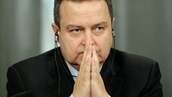 Ivica Dacic - Sputnik France