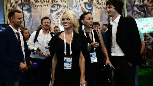 Pamela Anderson à Vladivostok - Sputnik France
