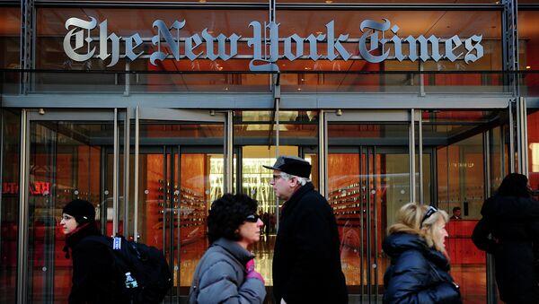 New York Times - Sputnik France