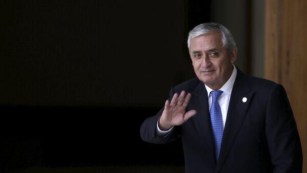 Guatemalan President Otto Perez - Sputnik France
